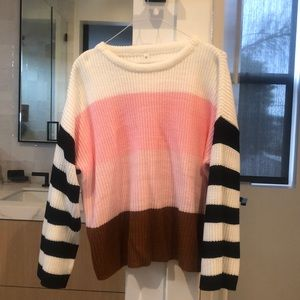 Cropped Boho Sweater. No tags, but never worn.